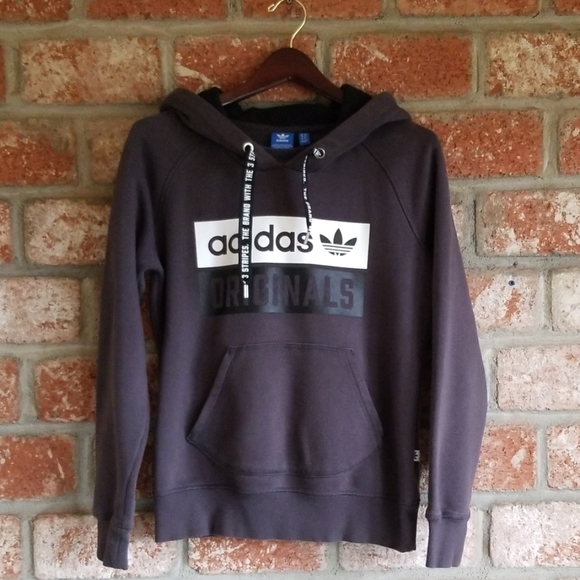 adidas hoodie the brand with 3 stripes